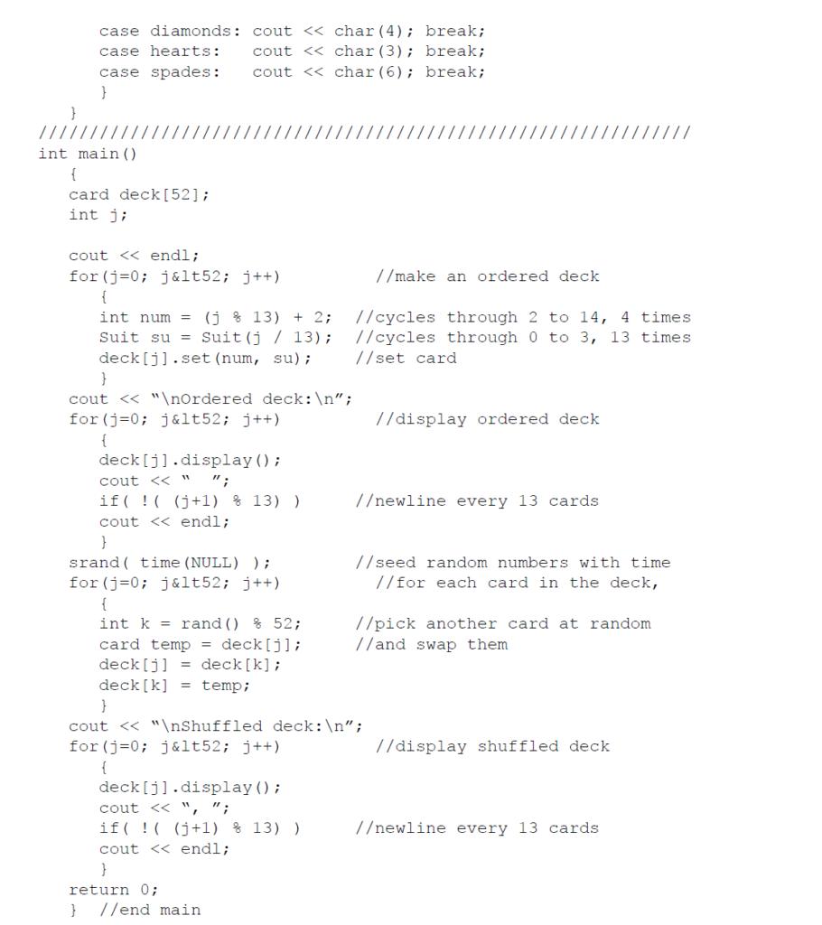 example of random numbers in c++