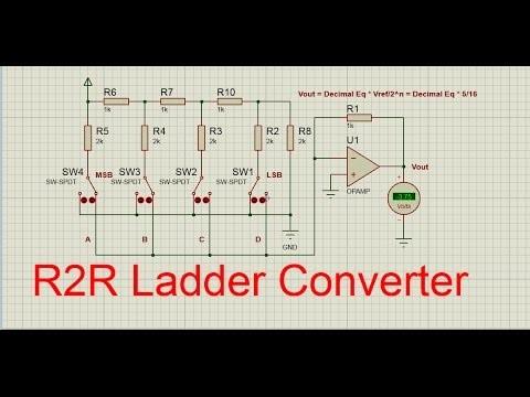 R2R ladder converter